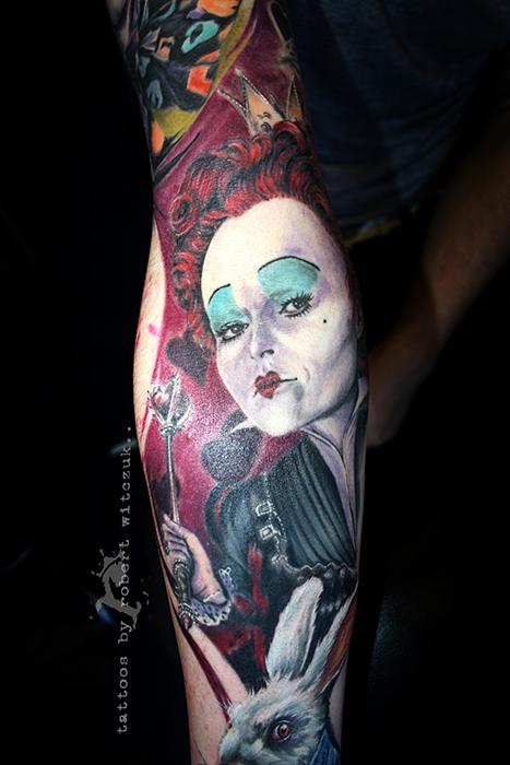 Red queen tattoos robert witczuk tattoos for Red queen tattoo