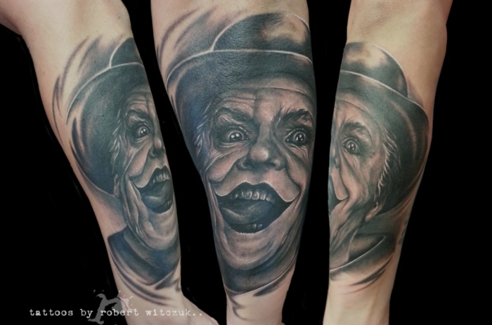 Malcolm x robert witczuk tattoos for Malcolm x tattoo